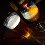 日本酒×和創作料理 香酒 鞘 - アサヒスーパードライ510円&お通し