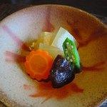 蕎麦十九 夢玄 - 大根の煮物