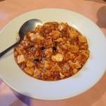 29473467 - 普通の麻婆豆腐
