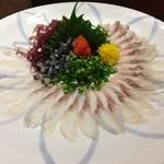Sakanaryourisemmontotoichi - 鰻の刺身
