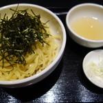 神楽坂 あい源 - ざる(中華麺)