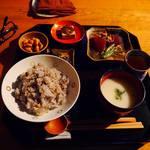 まつは - 今日のお食事(1,500円)。