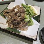 味楽座 - 「海草の天ぷら」です。