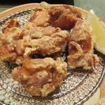 味楽座 - 「鶏唐揚げ」です。