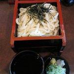 武蔵野 - 料理写真:ざるうどん(580円)