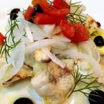 ファームイン - ヒラメなどのお魚を使ったマリネは白ワインがどんどん進むほど美味しかったです。
