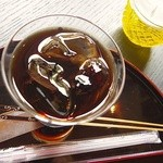 カフェ井政 - アイスコーヒー