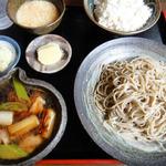 蕎麦喰い処 利めい庵 - 絶品 地鶏膳 (風の吹くままにさん)
