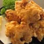 塩にんにく味の鶏唐揚