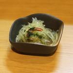 よよぎあん - お通し (素麺南京) (2014/07)