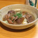 よよぎあん - 日高のゴールデンポーク もつ煮 (2014/07)
