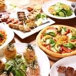 サザンカンフォート - 料理写真:宴会メニュー一例