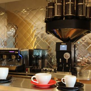 24種類のオリジナルコーヒー