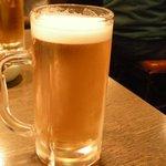 居酒屋 かみがしま - ドリンク写真:生ビール