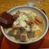 岡村家 - 料理写真:豚もつ煮込みうどん