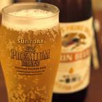 南あわじ美食農園オリザ - 飲み放題の瓶ビール