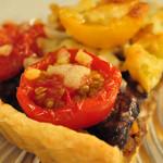 南あわじ美食農園オリザ - なすびとミニトマトのキッシュ