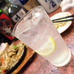 三祐酒場 - 焼酎白ハイボール