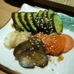 小倉鉄なべ餃子 - 床漬け