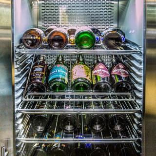 ベルギービールの管理を徹底。一番美味しい温度帯で