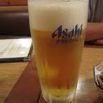 広島風お好み焼き 一番 - 生ビール