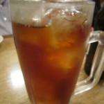 広島風お好み焼き 一番 - ウーロン茶