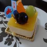 ベルジュ お菓子の木 - レアチーズケーキ