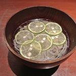 銀平 - 酢だち蕎麦