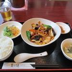 29507350 - 定食セット(回鍋肉) 820円
