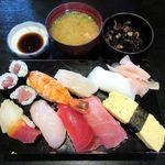 つた寿司 - 料理写真:にぎり定食(2014/08/04撮影)