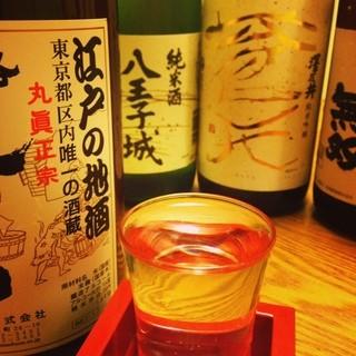江戸(東京)の地酒を心行くまで!!