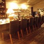 galerie+wine cafe TURM - 店内