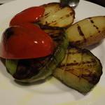 29510908 - 本日の炭火焼き野菜3種の盛り合わせ
