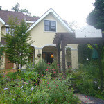 カフェ ソラ - 外観写真:緑の森に囲まれた一軒家カフェ