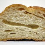 サンエトワール - 小麦ふすまのフランスデニッシュ(断面、2014年7月)