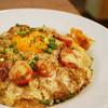 コロンビア - 料理写真:トマトとチーズのキーマ