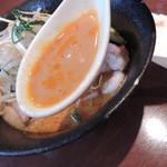 29513048 - 冷やし坦々麺のスープ
