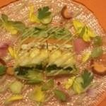 29513746 - イワシとジャガイモと夏野菜のテリーヌ