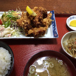 エランドール - ザンギ定食。700円。