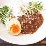 春水堂 六本木店 - 台湾風炸醤(ザージャー)麺セットで\1,080