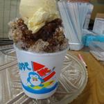 タバタヤ菓子舗 - コーラーアイスのせ