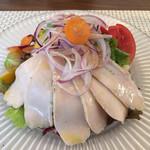 ラディーチェ - 鶏胸肉ヴィポーレのサラダ