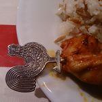 アセナ - 串の頭はチキン