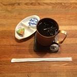 29517819 - ランチにつくアイスコーヒー
