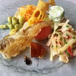 ビランシア - 前菜の盛り合わせ。