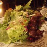 galerie+wine cafe TURM - グリーンサラダ