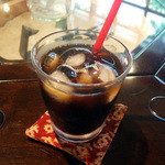 ますや - ごはんのランチ(880円)のアイスコーヒー