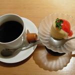 創和ダイニング 寛 - デザート&コーヒー (2009.12)