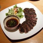 創和ダイニング 寛 - 牛肉のステーキ-980円 (2011.5)