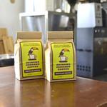 沖縄セラードコーヒー - こんな感じで豆を購入出来ます
